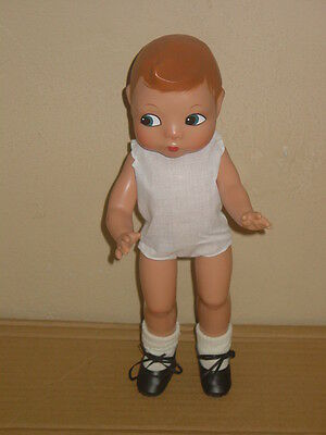 """Beautiful 1996 Effanbee 12"""" Reproduction Patsy Hard Plastic Doll Painted Face"""