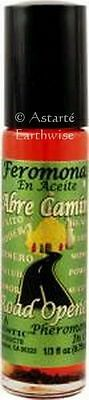 ROAD OPENER PHEROMONES IN OIL PERFUME 10mls ROLL ON Wicca Witch Pagan Spell