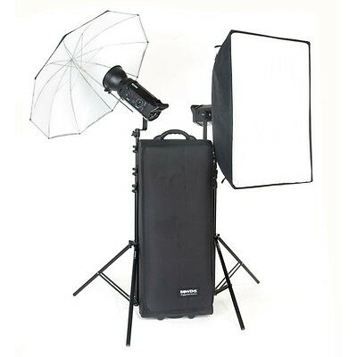 Bowens Gemini 500R Tx/Rx 2-Head Studio Flash Kit