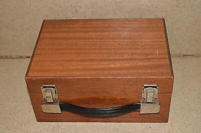 """++ Wood Case Approximate Size 9"""" X 6.5"""" X 3"""" (Py1)"""