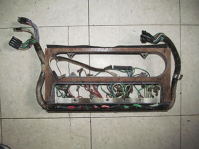 Jaguar XJ6 Series 1 Centre Dashboard with wiring