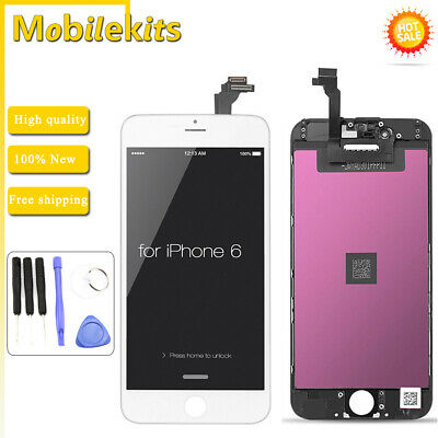 LCD Display Touch Screen Digitizer Assembly Replacement Parts For iPhone 6 White