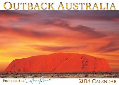 2018 Wall Calendar - Outback Australia by David Messent - NEW
