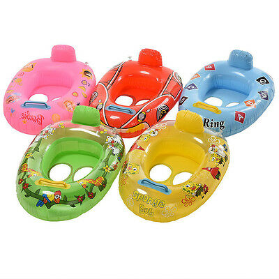 1x High Quality Kids Baby Toddler Swimming Pool Swim Seat Float Boat Ring NEW