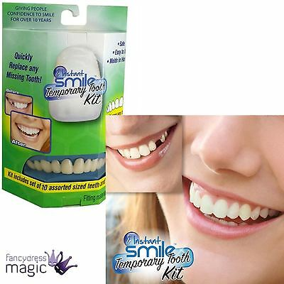 Billy Bob False Teeth Instant Smile Veneers Replacement Tooth Fancy Dress Dental