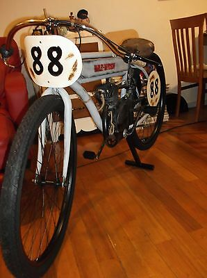 1909 Harley Davidson board track racer tribute motorised bike,man cave,shopfront
