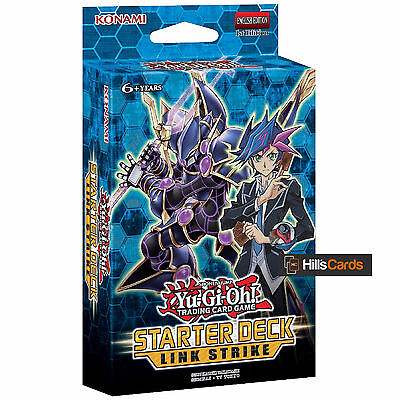Yu-Gi-Oh TCG: Link Strike Starter Deck YS17 - New & Sealed - Link Cards - Vrains
