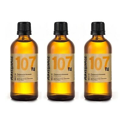 Naissance Wholesale Peppermint Arvensis Essential Oil 300ml (3 x 100ml)