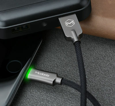 Mcdodo Smart LED Lightning DataUSB Charging Auto Disconnect Cable IPhone 5/7Plus