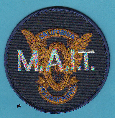 California Highway Patrol  Mait Major Accident Investigation Police Patch