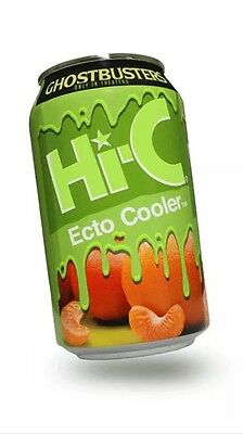 NEW Ghostbusters Hi-C Ecto Cooler Limited 11.5 oz Can SEALED - Thermal Ink