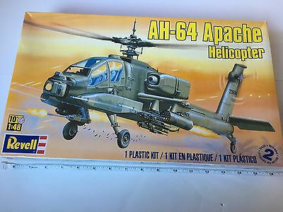 Revell 1:48 Skill 2 AH-64 Apache Helicopter Model Kit Electronic Defense  024-09