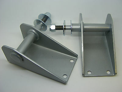 Classic Mini Heavy Duty Lowered Front Shock Absorber Mounts x2 rover austin kit