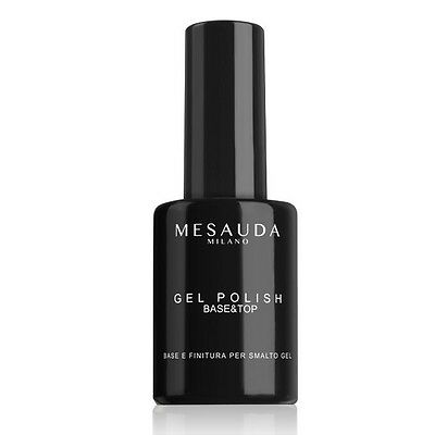 Mesauda Milano Base & Top Gel Di Finitura Sigillante Smalto Gel Per Unghie 14Ml