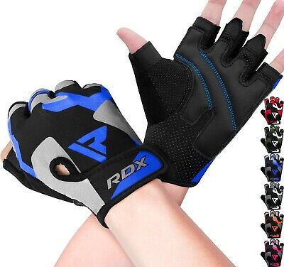 RDX Weight Lifting Gloves Bodybuilding Gym Fitness Crossfit Training Workout AU