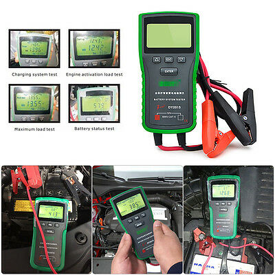 Digital Battery Tester 12V Automotive Car Lead-acid Cell Analyzer With Printer