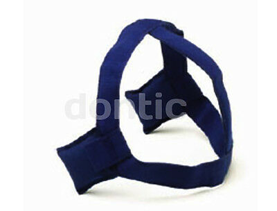 Leone orthodontic high pull headgear strap navy blue - New! (Made in Italy)