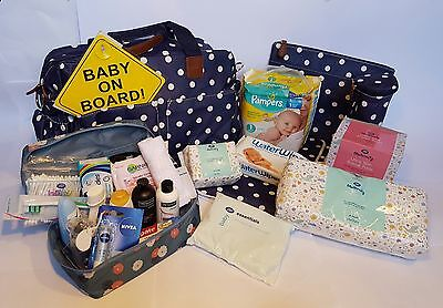 Pre Packed Maternity Hospital Changing Bag
