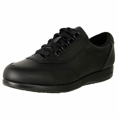 New Hush Puppies Women's Wide Leather Classic Walker Work Duty Shoes Cheap