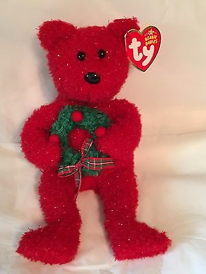 TY Beanie Baby - 2006 HOLIDAY TEDDY - Pristine with Mint Tags - RETIRED