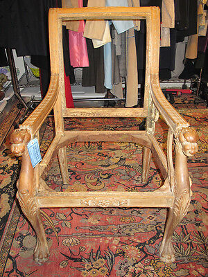 Antique Emperor's Chair Frame