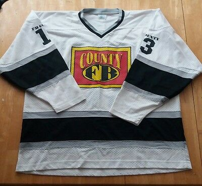 Authentic Vintage Fb County #13  Football Jersey Sz 2Xl Gangster Cholo Chola