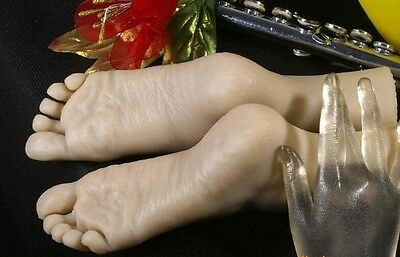 Realistic Female Feet - Silicone Foot Model for Shoes etc.(Free Shipping)