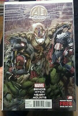 Age of Ultron book #1 from 2013 Marvel Comics