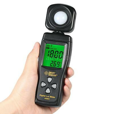 Digital Lux Meter LCD Display Handheld Illuminometer Luxmeter Light Meter Z4T8