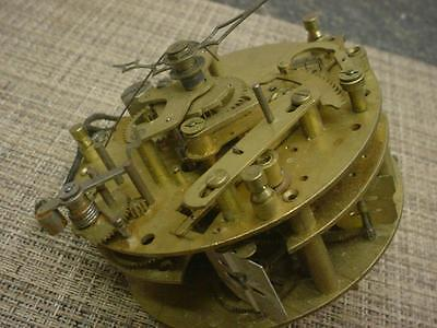 Vintage Westminster Chime Movement w Electric Clock Motor Assist  E1021b