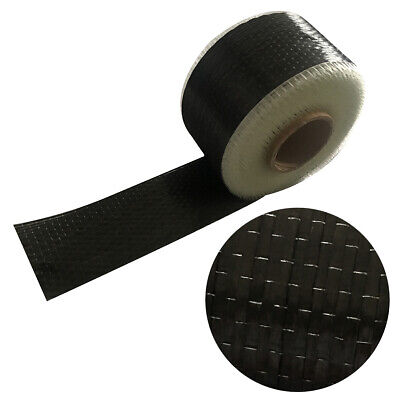 Real Carbon Fiber 12k Uni directional Cloth Fabric Tap 10cm X 270cm 12K 200G