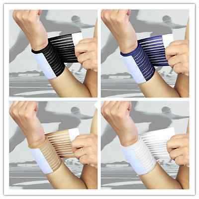 Sport Gym Workout Weight Lifting Tennis Basketball Hand Wrist Wrap Support Band`