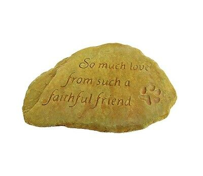 New High-Quality Faithfull Friend Decorative Durable Stone Weathered Bronze