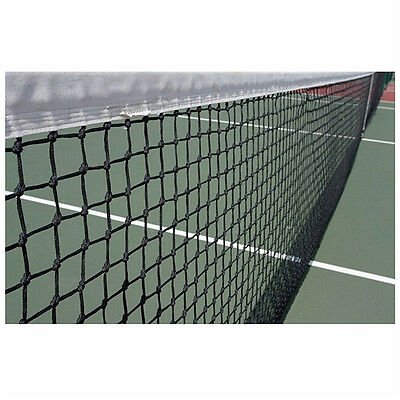 12.8M X 108cm Tennis Court Net 42ft Standard FULL Size Steel Cable Included