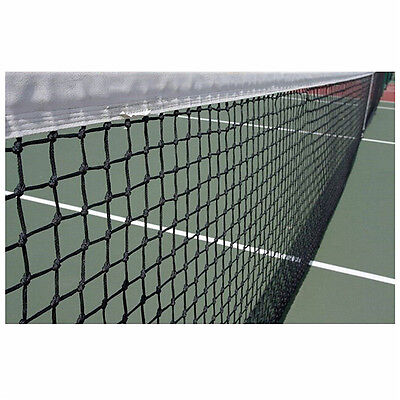 12.8M X 1.08m Tennis Court Net 42ft Standard FULL Size Steel Cable Included