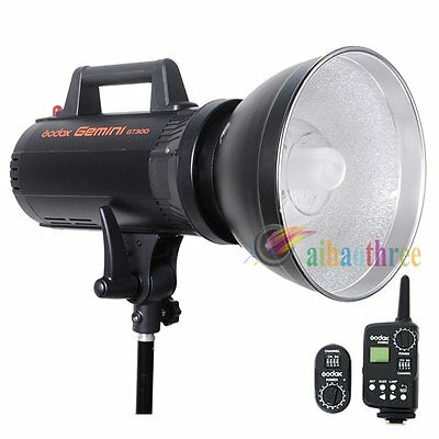 Godox Gemini GT-300 300W High Speed Studio Strobe Flash Light + FT-16 Trigger