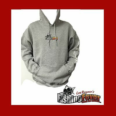 Fishing Fever Grey Hoodie At Fishing Fever