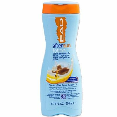 ALOE VERA AFTER SUN LOTION Soothing Non Greasy Cream Aftersun Suncream 200ml