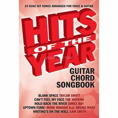 Wise Publications Wise Publications - Hits Of The Year 2015 - Guitar Chord Songb