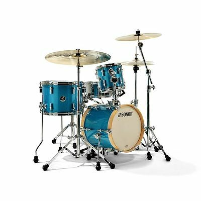 Sonor Sonor - SSE 13 Martini ShellSet, Turquois Galaxy Sparkle