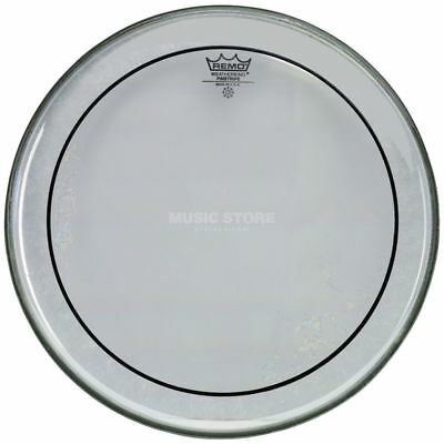 "Remo Remo - Pinstripe Clear 13"", Tom Batter"