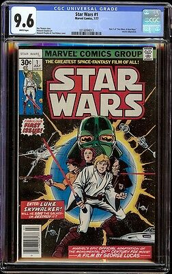 Star Wars # 1 CGC 9.6 White (Marvel, 1977) 1st appearance of Star Wars in comics