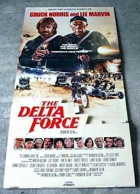 The Delta Force  (1986)  -Vintage Movie Standee
