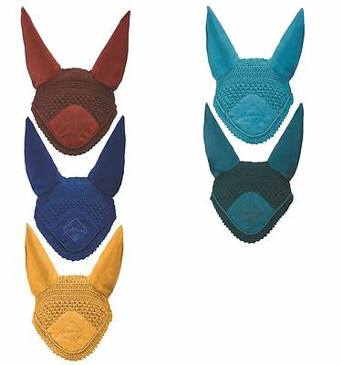 LeMieux Signature Fly Hoods/Veils with Ears for Horses 11267P