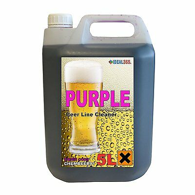Purple Beer Line Cleaner FREE NEXT DAY DELIVERY