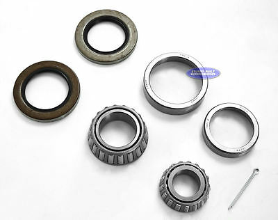 Boat Trailer Hub Wheel Bearing Kit 8 Bolt 1 1/4x1 3/4 14125A For 7,000# Axle