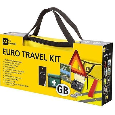 AA European Driving Travel Kit Gift Pack Legal Requirements France Spain Germany