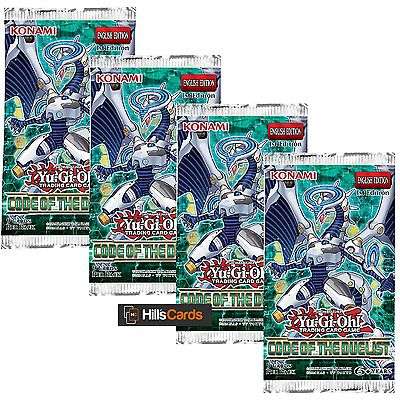 Yu-Gi-Oh TCG Code of the Duelist 4 Sealed Booster Packs COTD Cards Link Monsters