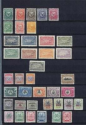 Dominican Republic 1885-1920  38 Mint Stamps