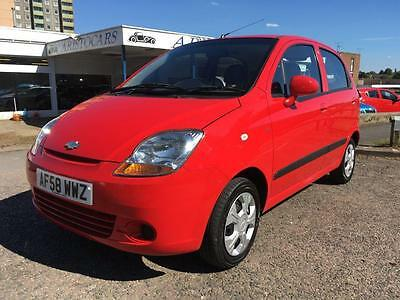 2008 Chevrolet Matiz 1.0 SE 5dr 5 door Hatchback